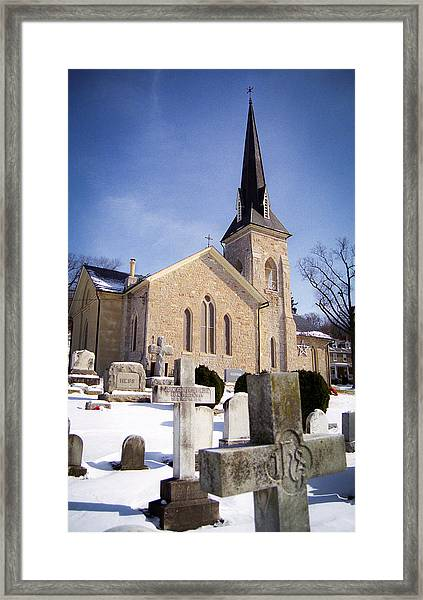 Cold Stone Service Framed Print