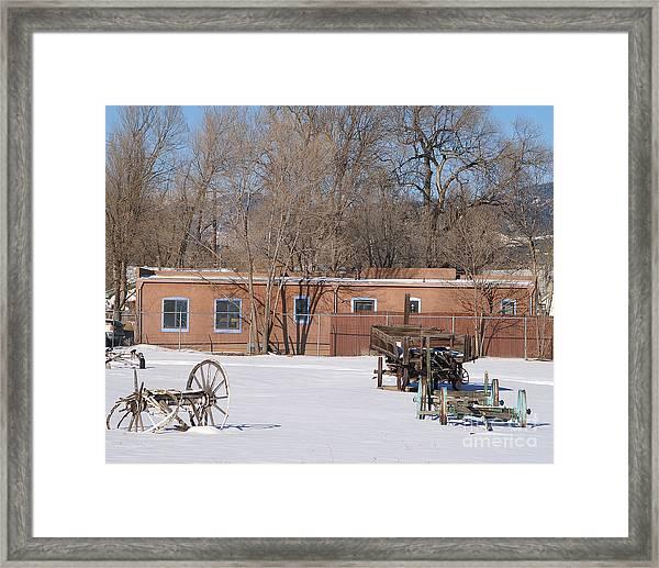 Cold Storage Framed Print