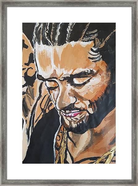 Colin Kaepernick Framed Print