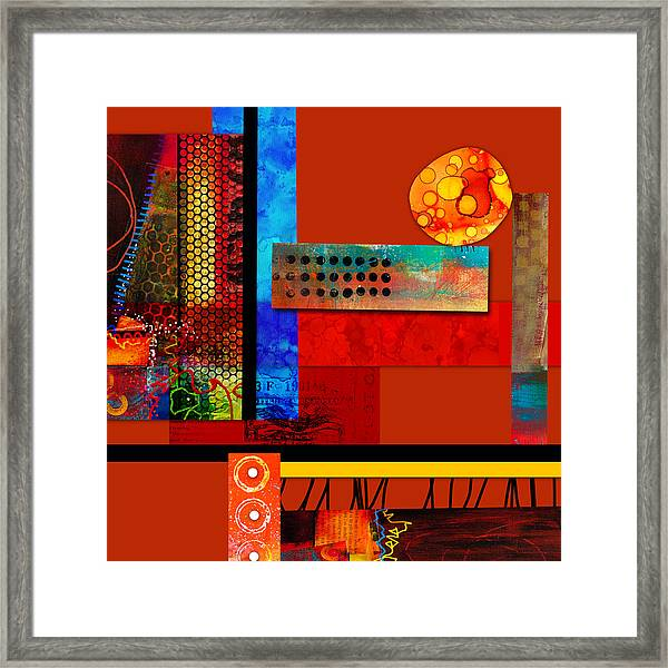 Collage Abstract 2 Framed Print