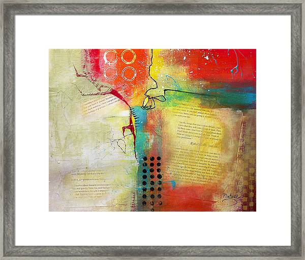 Collage Art 5 Framed Print