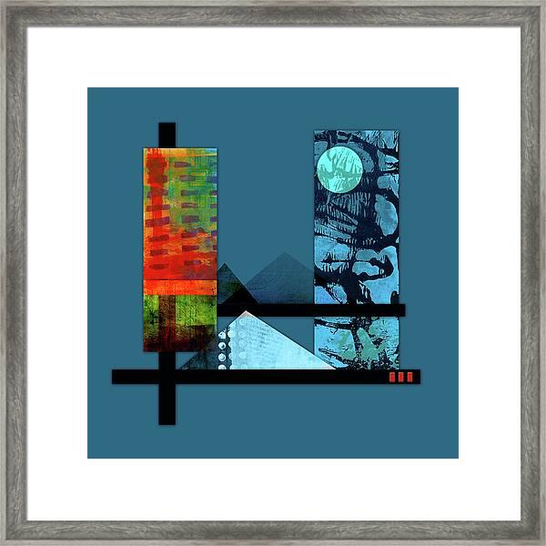 Collage Landscape 1 Framed Print