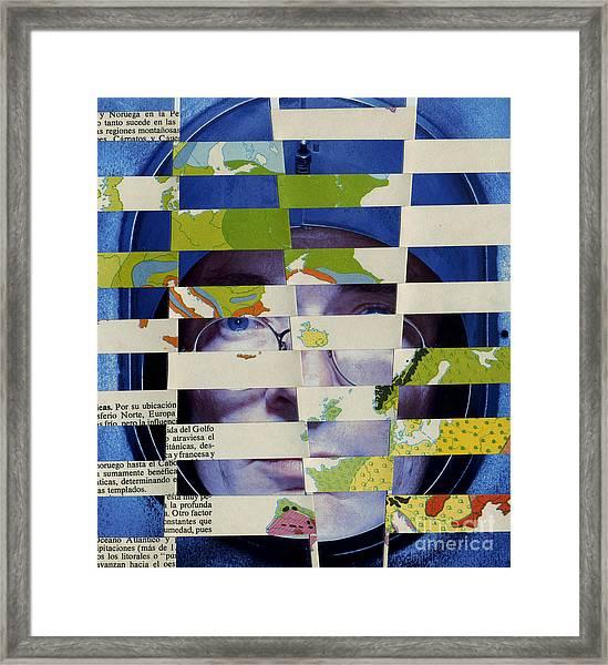 Collage Verso Framed Print
