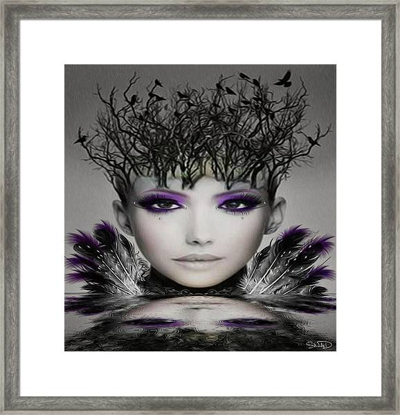 Collective Thoughts Framed Print