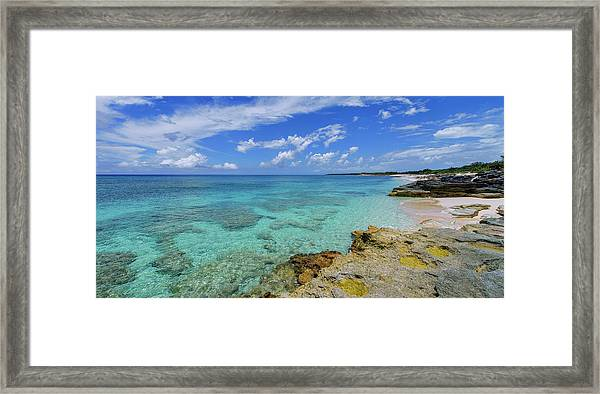 Color And Texture Framed Print