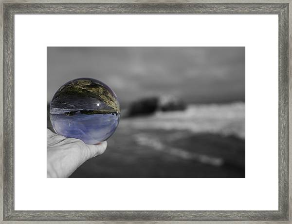 Color Ball Framed Print