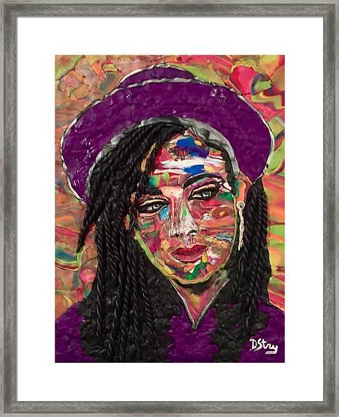 Color Chameleon Framed Print