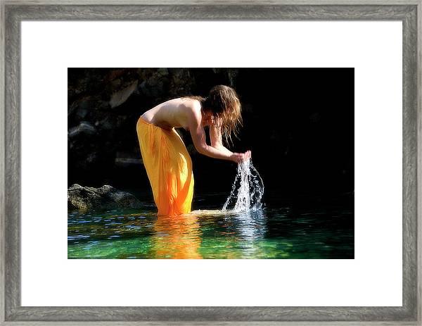 Color Nude 08 Framed Print