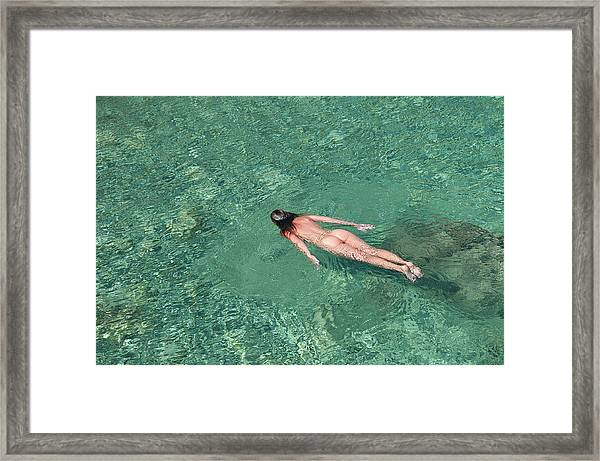 Color Nude 09 Framed Print