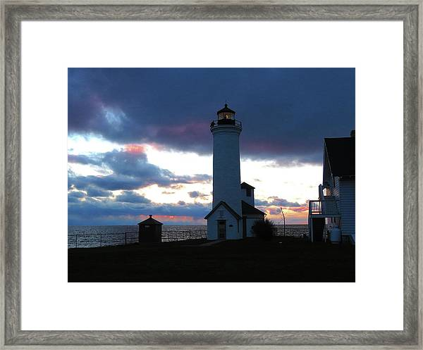 Color Of December, Tibbetts Point Lighthouse Framed Print