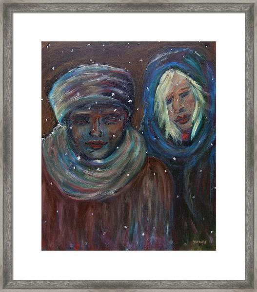 Color Of Winter Framed Print