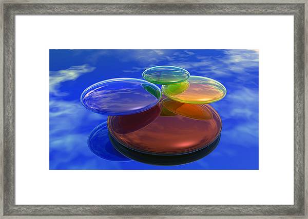 Color Reflections Framed Print