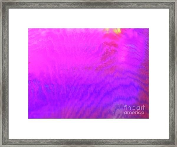 Color Surge Framed Print