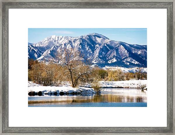 Colorado Flatirons 2 Framed Print
