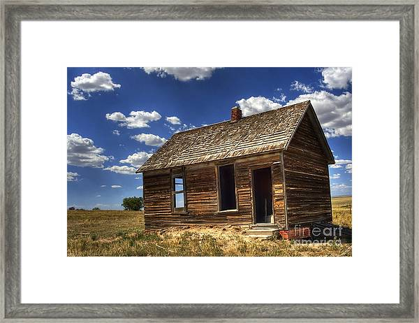 Colorado Homestead Framed Print