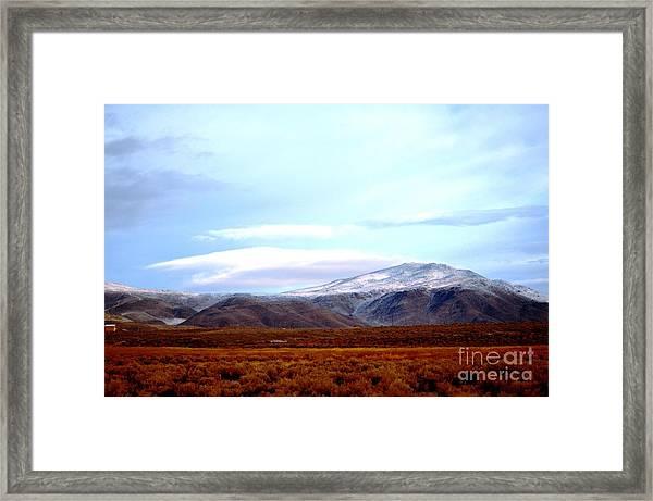 Colorado Mountain Vista Framed Print