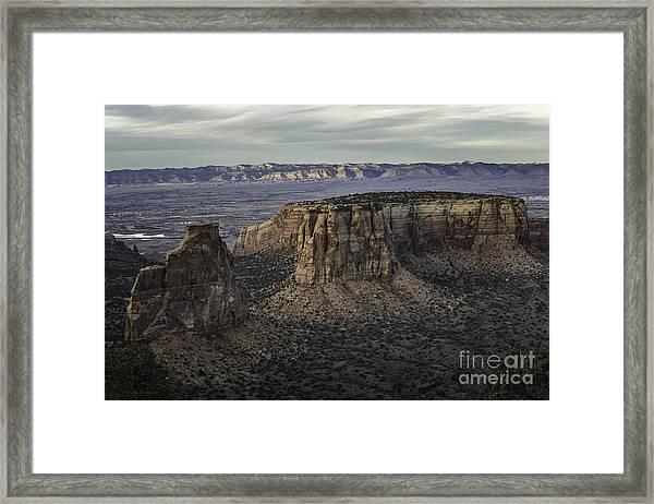 Colorado National Monument 2 Framed Print