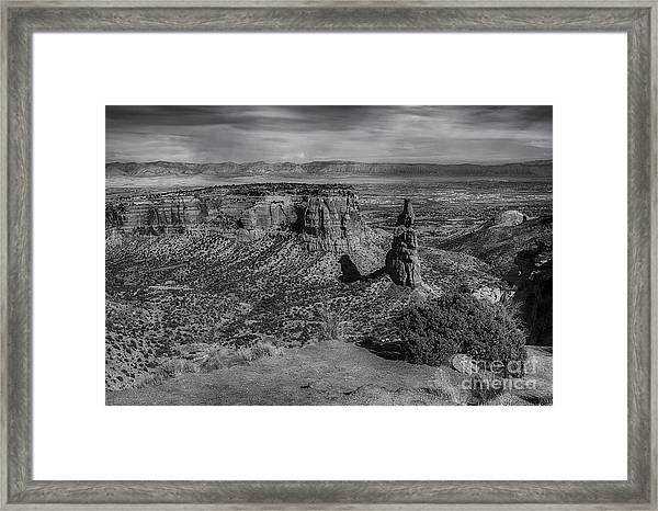 Colorado National Monument Framed Print