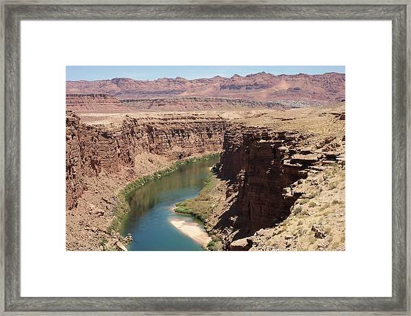 Colorado Red Framed Print