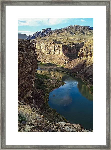Colorado River Grand Canyon National Park Framed Print