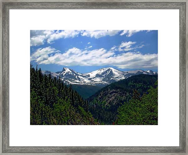 Colorado Rocky Mountains Framed Print