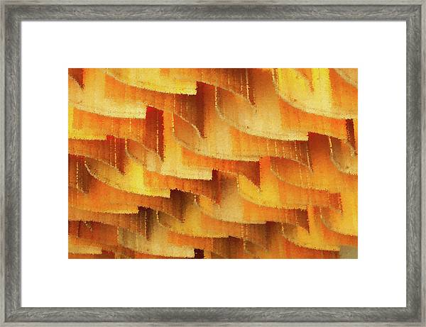 Colorful Bamboo Ceiling- China Framed Print