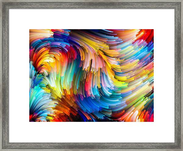 Colorful Beauty Framed Print