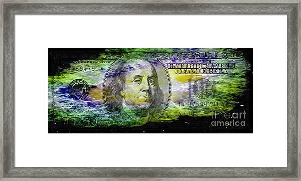 Colorful Ben Framed Print