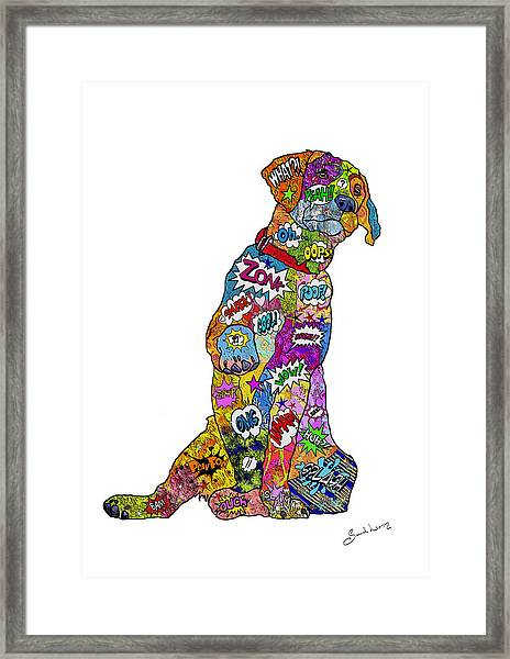 Labradorable Framed Print