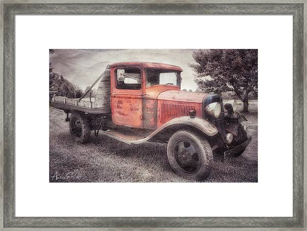 Colorful Past Framed Print