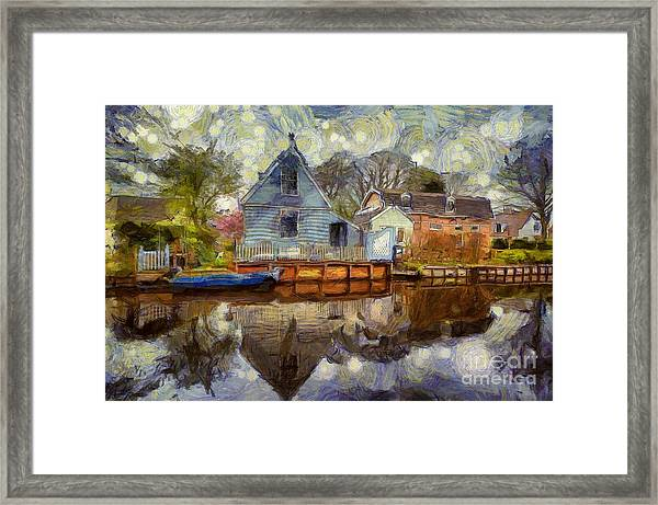 Colorful Serenity Framed Print