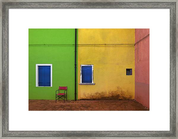 Colorland Framed Print