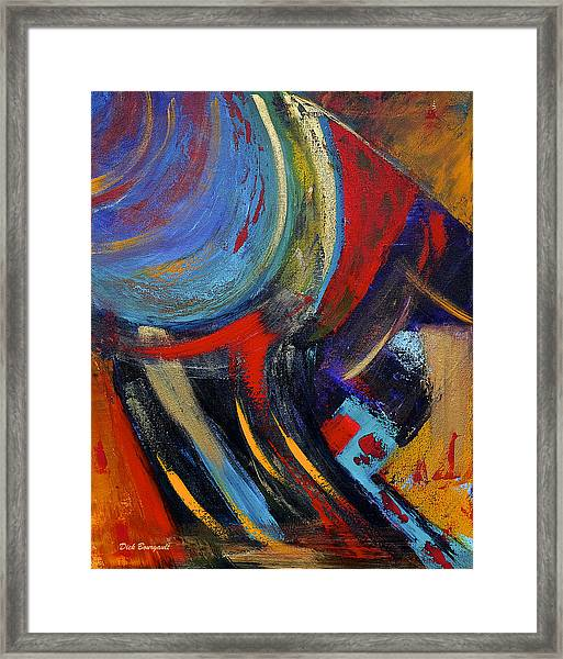 Colors For Emerson Framed Print