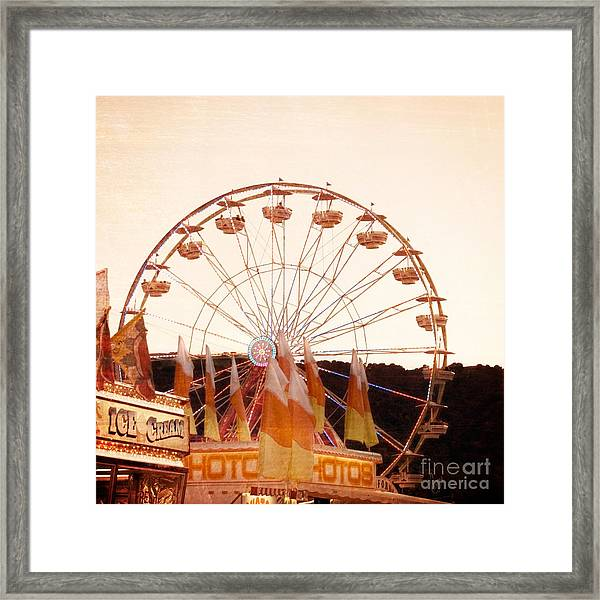 Colors Of August Framed Print