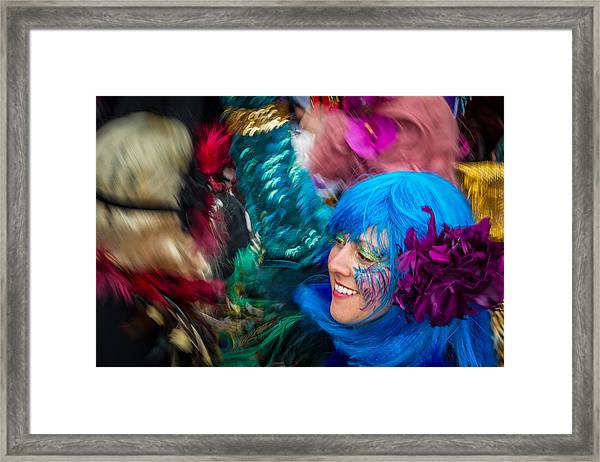 Colors Of Carnival Framed Print
