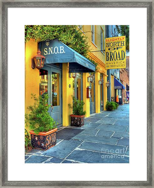 Framed Print featuring the photograph Colors Of Charleston 2 by Mel Steinhauer