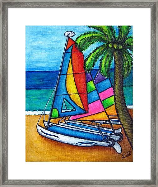 Colourful Hobby Framed Print