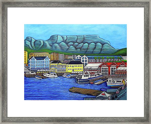 Colours Of Cape Town Framed Print