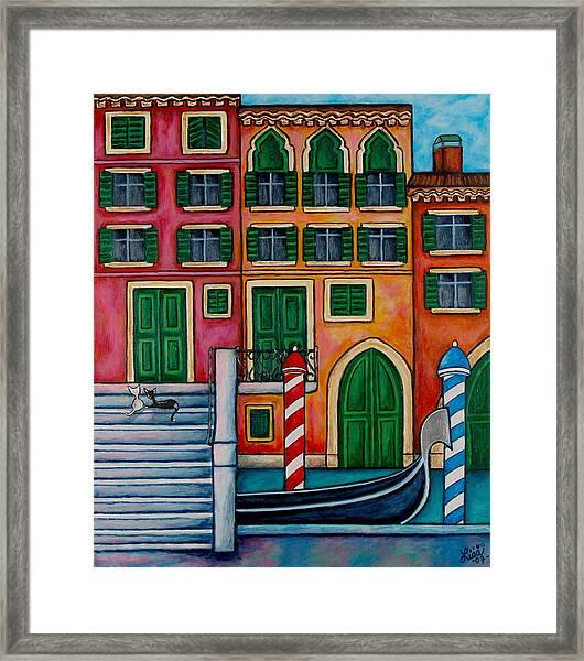 Colours Of Venice Framed Print