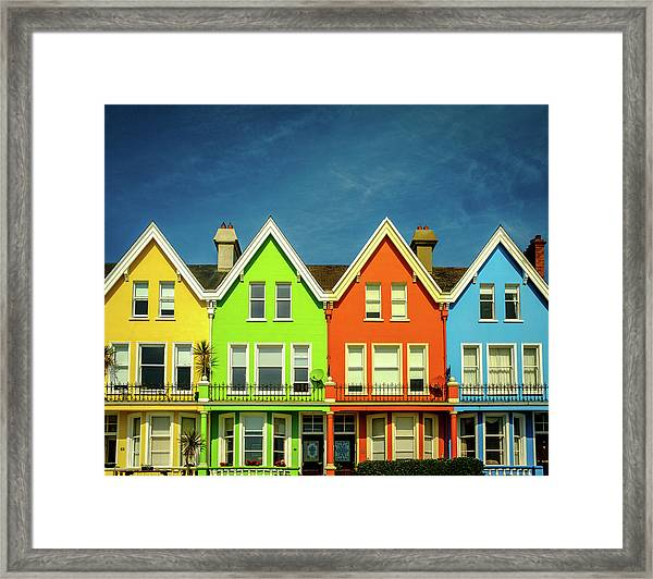Colours Of Whitehead Framed Print