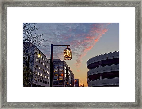 Columbus Morning 30 Framed Print