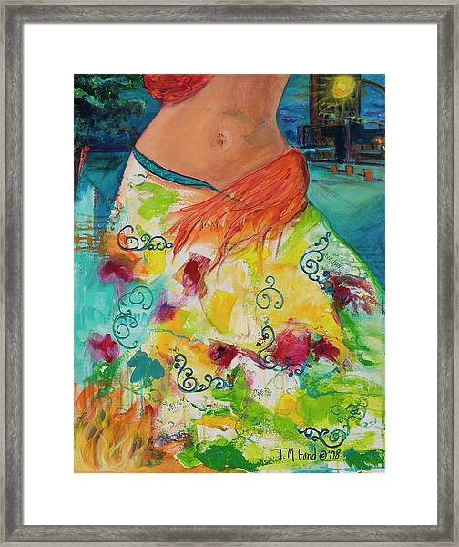 Combustible Framed Print