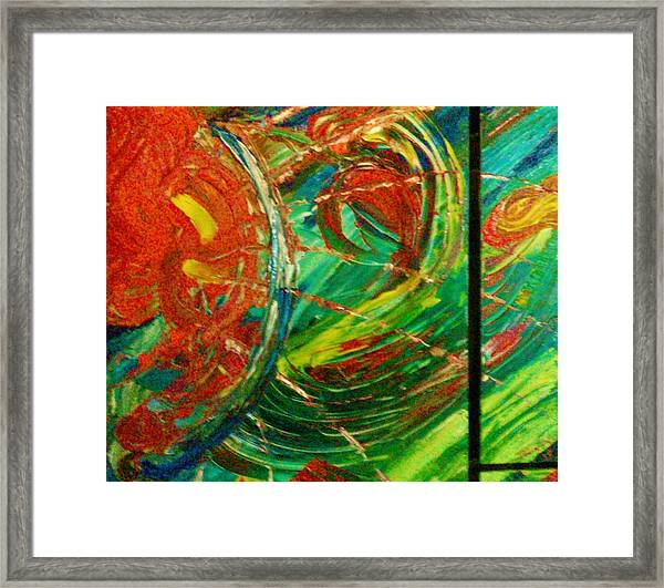 Framed Print featuring the painting Come Back by Ray Khalife