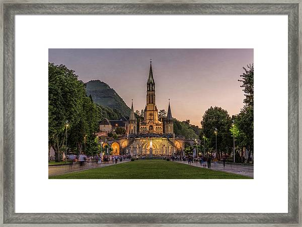 Come In Procession Framed Print
