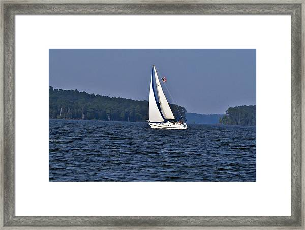 Come Sail With Me Framed Print by Michael Whitaker