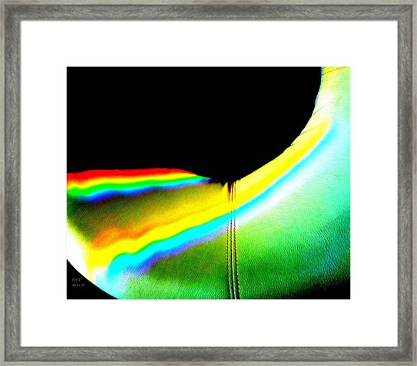 Come-sit In My Rainbow Framed Print