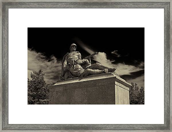 Come With Me If You Want To Live Framed Print