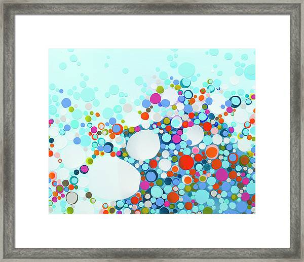 Comfortable In Chaos Framed Print