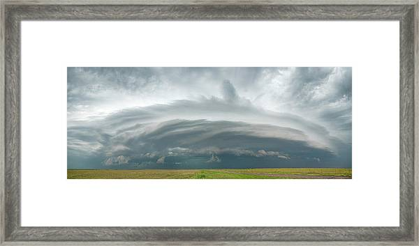 Framed Print featuring the photograph Coming From The North by Scott Cordell