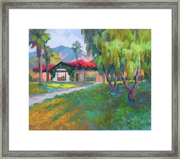 Coming Home To Traditions Framed Print